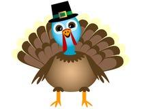 Smiling Thanksgiving Turkey Royalty Free Stock Photo
