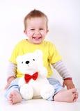 Smiling toddler Stock Photos
