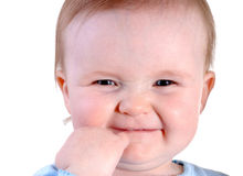 Smiling Toddler Royalty Free Stock Photo