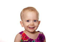 Smiling toddler Royalty Free Stock Photography