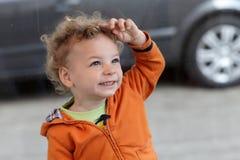 Smiling toddler Royalty Free Stock Image