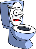 Smiling Toilet Royalty Free Stock Image
