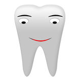 Smiling Tooth Royalty Free Stock Photography