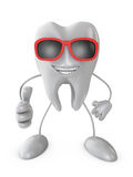 Smiling tooth Stock Photography