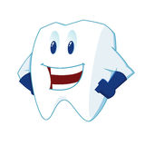 Smiling Tooth Mascot Royalty Free Stock Photos