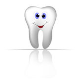 Smiling tooth Royalty Free Stock Image