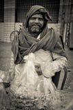 Smiling trader of Amritsar, Punjab, India Stock Images