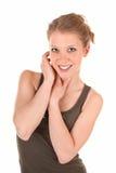 Smiling Trendy Girl Royalty Free Stock Image