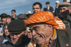 Smiling Turkish man Stock Photos