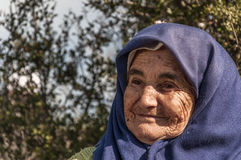 Smiling Turkish woman Stock Image