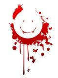 Smiling vampire symbol Royalty Free Stock Photo