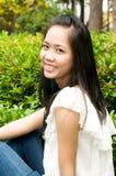Smiling Vietnamese Girl Stock Photography