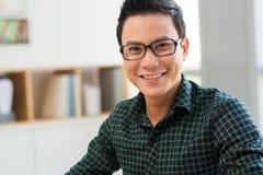 Smiling Vietnamese man Royalty Free Stock Images