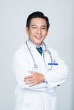 Smiling Vietnamese practitioner Royalty Free Stock Photos