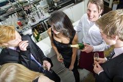 Smiling waiter Royalty Free Stock Images