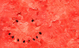 Smiling watermelon Royalty Free Stock Images