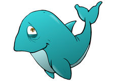Smiling whale Royalty Free Stock Image