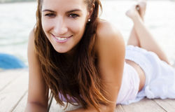 Smiling woman Royalty Free Stock Photo