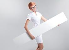 Smiling woman stock image