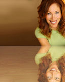 Smiling woman Stock Photography