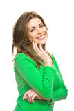 Smiling woman Stock Image