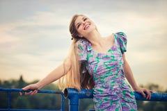 Smiling woman Stock Photos