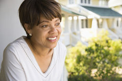 Smiling woman. Stock Photography