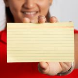 Smiling woman royalty free stock photography