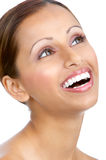 Smiling woman. Royalty Free Stock Image