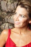 smiling woman Στοκ Εικόνες
