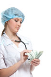 Smiling woman doctor Royalty Free Stock Image