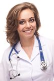 Smiling woman doctor Stock Photo