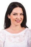 Smiling woman face Stock Photos
