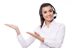 Call center Royalty Free Stock Photography
