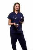 Smiling woman nurse Royalty Free Stock Photo