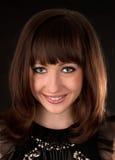 Smiling woman portrait Stock Images