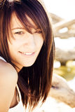 Smiling woman portrait Royalty Free Stock Images