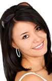 Smiling woman portrait - sunglasses Stock Photos