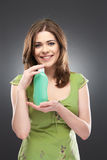 Smiling woman portrait Stock Photography