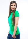 Smiling woman . Stock Image