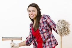 Fancy Housekeeper Royalty Free Stock Image