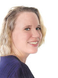 smiling woman young Στοκ Εικόνες