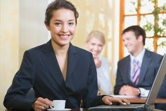 Smiling women Stock Photography