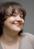 Smiling women stock image