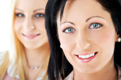 Smiling women team Royalty Free Stock Photos