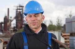 Smiling worker Stock Photos