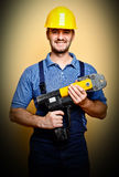 Smiling worker Stock Photography