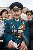 Smiling World War II veteran Shishkin V.I. Royalty Free Stock Images