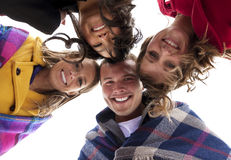 Smiling Young Adults stock photography