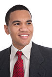 Smiling Young African American Male Portrait Stock Photos